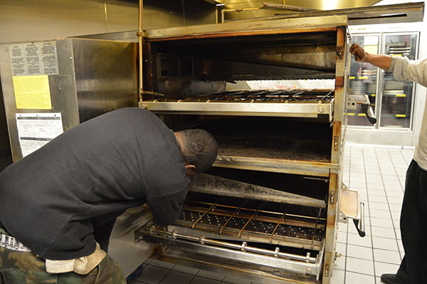 Before Photos- Restaurant Oven Cleaning